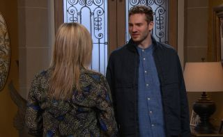 Jamie tells Kim to stay away from him and Millie Emmerdale