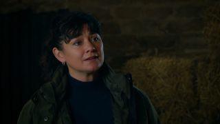 Moira begs Cain in Emmerdale