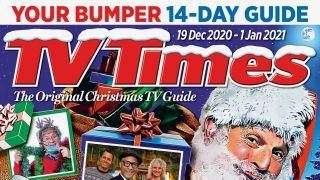 TV Times Christmas cover 2020