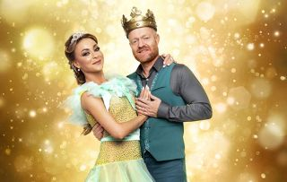 EastEnders star Jake Wood in the Strictly Come Dancing Christmas special