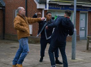 Coronation Street spoilers: Tim steps in when James Bailey lashes out!
