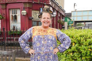 Lorraine Stanley plays Karen Taylor