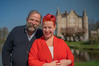 Dick and Angel Strawbridge Escape to the Chateau Make Do and Mend