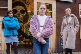 Ella Richardson, Mandy and Yazz in Hollyoaks