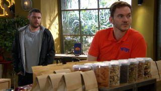 Aaron has another date arranged with Ben in Emmerdale