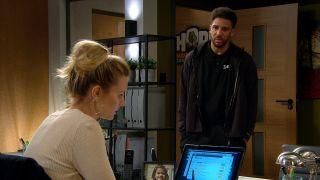 Dawn's heart breaks when Billy tells her he still loves her in Emmerdale