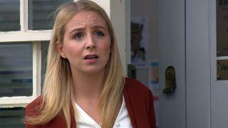 Belle Dingle gets some unwlcome news in Emmerdale