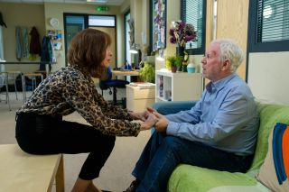 Hope springs! After the hostage horror in Casualty Connie reaches out to Charlie