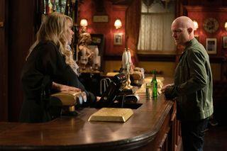 Sharon Watts warns Max off Linda in EastEnders