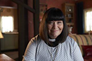 Geraldine in The Vicar of Dibley in Lockdown