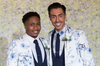 Scott and Mitchell get married in Hollyoaks