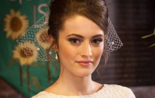 Lily Drinkwell wedding day in Hollyoaks