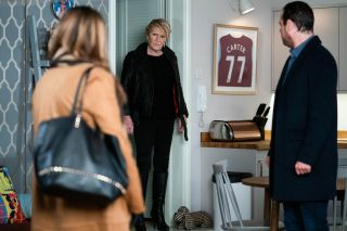 EastEnders Shirley discovers the truth