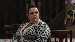 Mandy is troubled in Emmerdale
