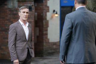 Edward Hutchinson and Kurt Benson in Hollyoaks