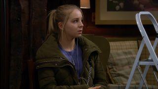 Belle hears Lisa's voice in Emmerdale