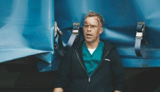 Dylan injured and in shock after a fatal crash in Casualty