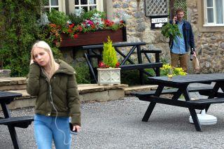 Jamie sets a plan up against Belle in Emmerdale