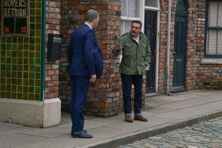 Coronation Street spoilers: Nick Tilsley and Peter bury the hatchet?