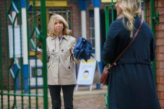Coronation Street spoilers: Gail Platt has a warning for Natasha!