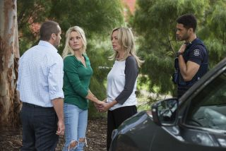Neighbours, Toadie Rebecchi, Dee Bliss, Heather Schilling, Levi Canning