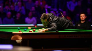 Ronnie O'Sullivan - who could be on I'm A Celebrity 2020 - playing snooker