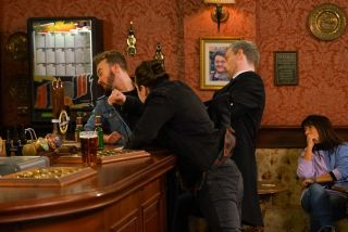 Coronation Street spoilers: Jealous Seb Franklin attacks David!