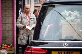 Coronation Street spoilers: Will Eileen Grimshaw attend 'Todd's' funeral?
