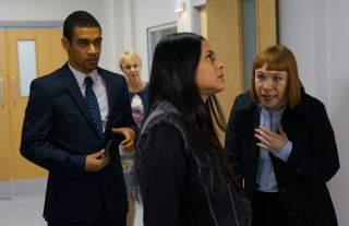 Coronation Street spoilers: Can Alya Nazir prove Geoff is a liar?