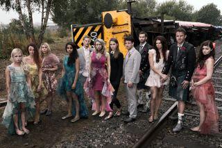 McQueen wedding train crash