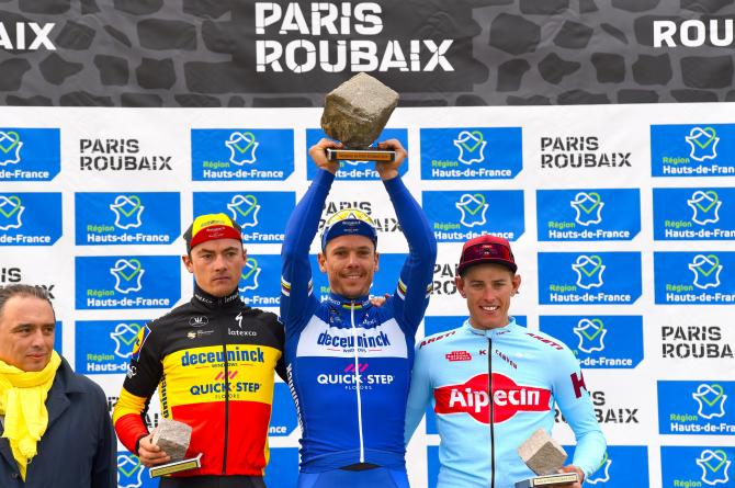 Philippe Gilbert, 2019 Paris-Roubaix champion