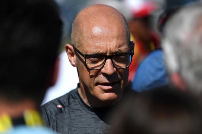David Brailsford at the rest day