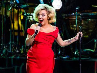 Sheridan Smith performing