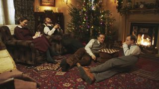 watch All Creatures Great and Small Christmas 2020 special online - James and Helen