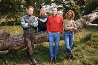 Springwatch presenters Chris Packham, Michaela Strachan, Iolo Williams and Gillian Burke