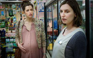 Meghan and Agatha in The Secret She Keeps