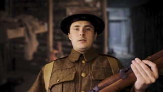EastEnders star Max Bowden as Tipper in Birdsong