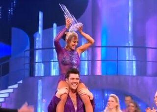 Dancing On Ice 2011: Sam Attwater wins!