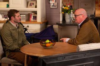 Jamie tells Paddy to fire Belle in Emmerdale