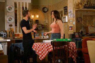 Coronation Street spoilers: Shona Ramsey makes a move on David!