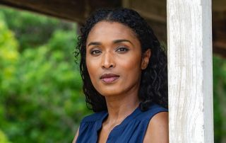 Sarah Martins as Camille Bordey in Death in Paradise