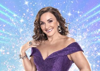 Strictly's head judge Shirley Ballas in a glamorous gown