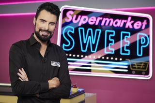 Rylan Clark-Neal hosting Supermarket Sweep on ITV2