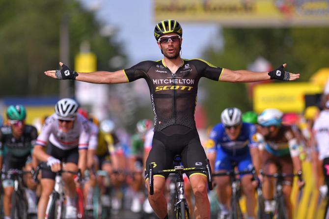Luka Mezgec (Mitchelton-Scott) wins stage 5 at the Tour de Pologne