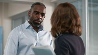 Jacob and Connie have an explosive argument in Casualty