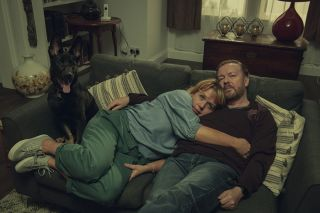 Kerry Godliman and Ricky Gervais
