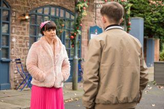 Nancy Osborne and Charlie in Hollyoaks