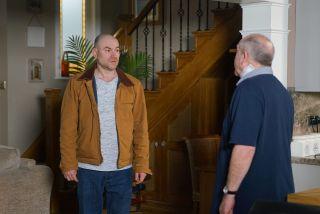 Coronation Street Spoilers: Has Tim Metcalfe caught Geoff red-handed?