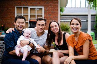 Neighbours, David Tanaka, Aaron Brennan, Bea Nilsson, Elly Conway
