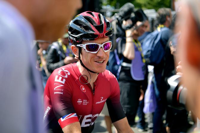 Geraint Thomas (Team Ineos) at the Tour de France